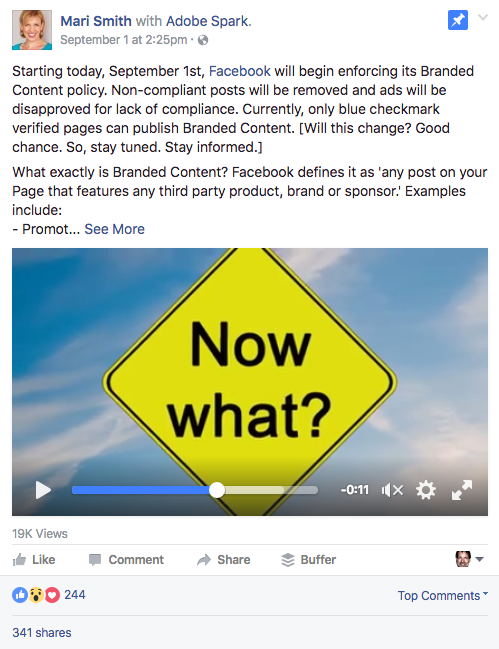 Facebook Branded Content Made Easy