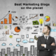 The Wax blog has been named to a list of  best  online marketing blogs.