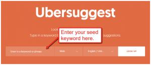 Seed Keyword