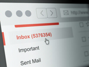 full email inbox means need for personalization