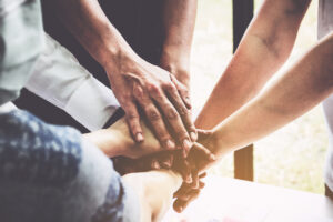 teamwork for brand thought leadership